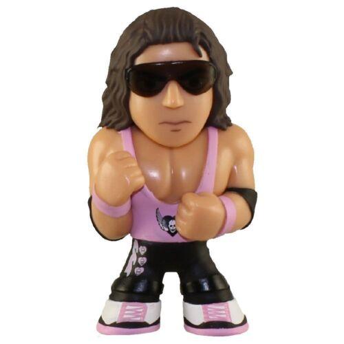 WWE Mystery Minis Series 2 Bret The Hitman Hart 2-Inch 1//12 Mystery Minifigure
