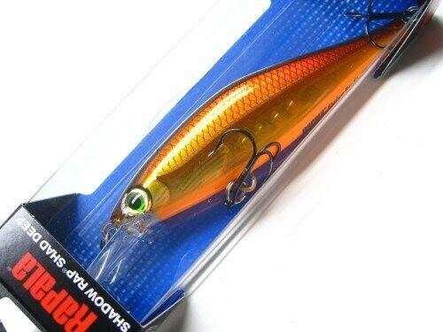 Rapala SDRSD09-MLC Molten Copper Shadow Rap Shad Deep 09 Jerkbait Fishing Lure
