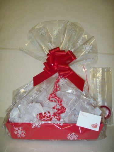 "❤ 16/"" RED DIY Hamper tray Kit Valentines Day Birthday Wedding Love Anniversary"