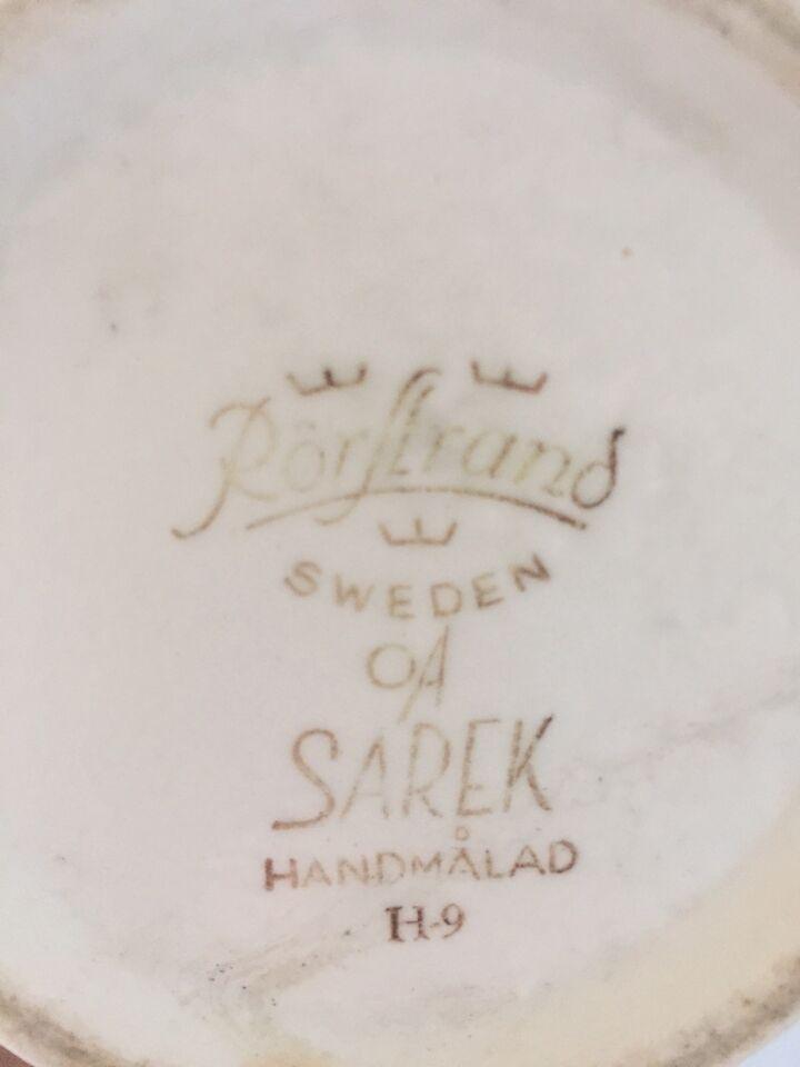 Vase, Keramisk vase, Sarek af Olle Alberius
