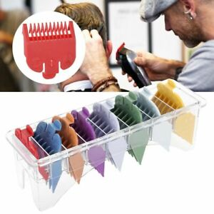 8-Sizes-Barber-Limit-Comb-Guide-Tool-Set-For-Electric-Hair-Cutting-Clipper-ML