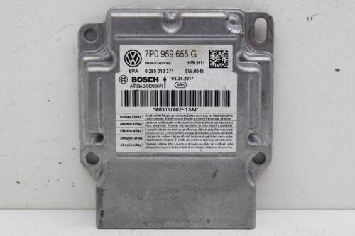 11 12 Volkswagen Touareg 7P0 959 655 G Airbag Control SRS Relay Unit Module