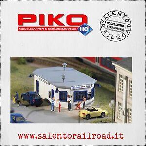 PIKO-61835-CHIOSCO-RISTORO-per-plastico-scala-1-87