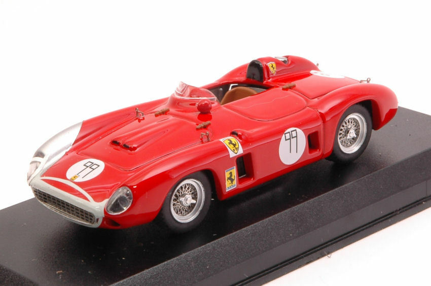 Ferrari 860 Monza  99 2nd Bridgehampton 1958 B. Grossman 1:43 Model 0369
