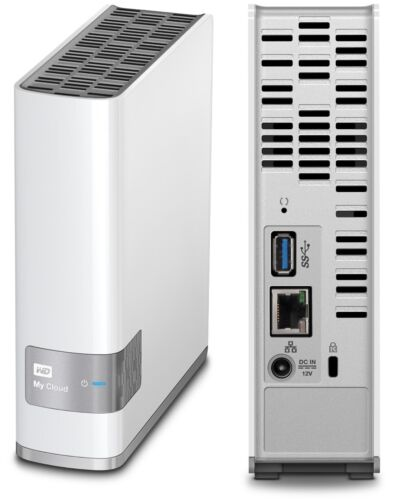 WD My Cloud 8TB External Hard Drive Western Digital WDBCTL0080HWT WDBVXC0080HWT