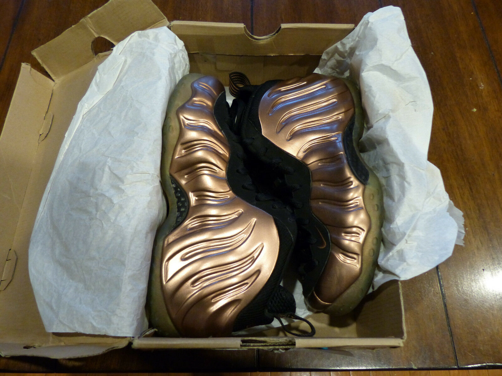 best loved cb229 1258e Nike air foamposite one 2010 2010 2010 og release kupfer mens 6 selten  bfbe93