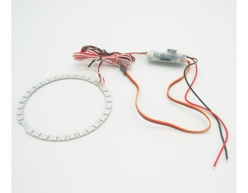 Free Shipping ! RC Lander 3 Colour Led AfterBurn System For 70mm EDF Jet