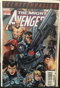 The-Mighty-Avengers-13-2nd-Print-Variant-2008-NM-Cond-1st-Secret-Warriors