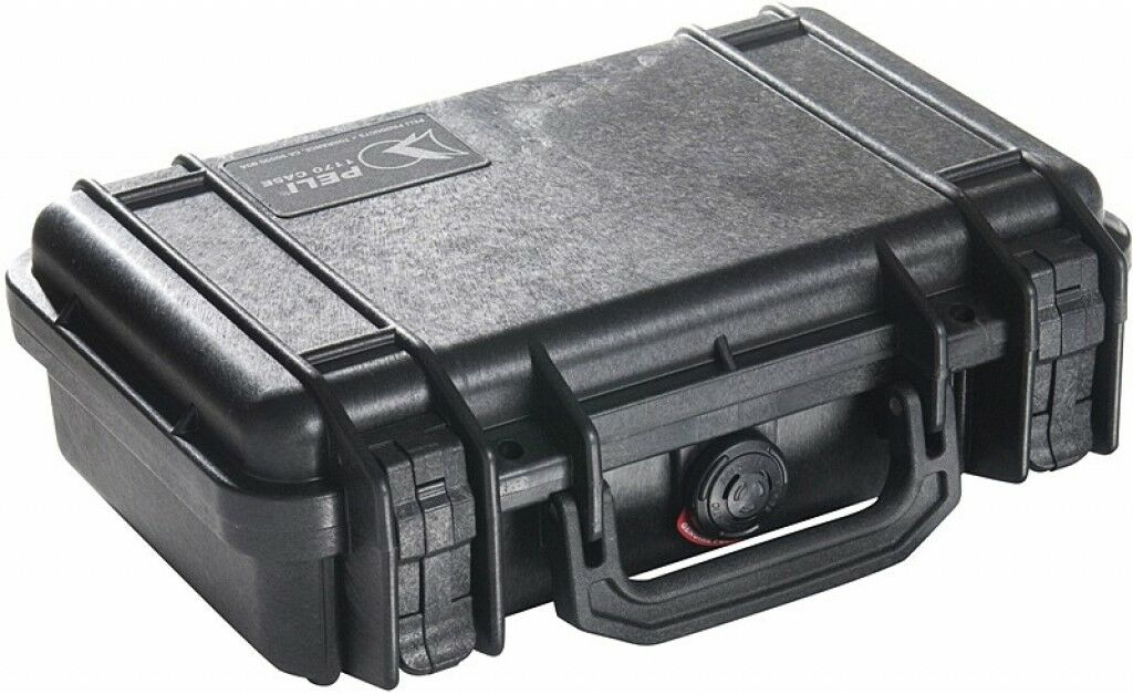 Peli Box Pelibox Pelicase '1170' black, mit Schaumeinsatz
