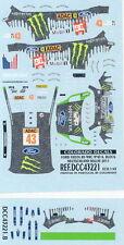 #46 COLORADO VV43016 ROSSI NEW DECALS 1//43 FORD FIESTA WRC MONZA 2018