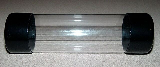 1 DOZEN - CLEAR PLASTIC MAILING/PACKING/SHIPPING TUBES