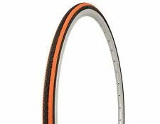 1 Orange Shoulder Duro 700x25c Bike Bicycle Fixie City Road Clincher Tire 781314