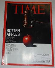 Time Magazine Rotten Apples & Some Tech Millionaires November 2014 120514R