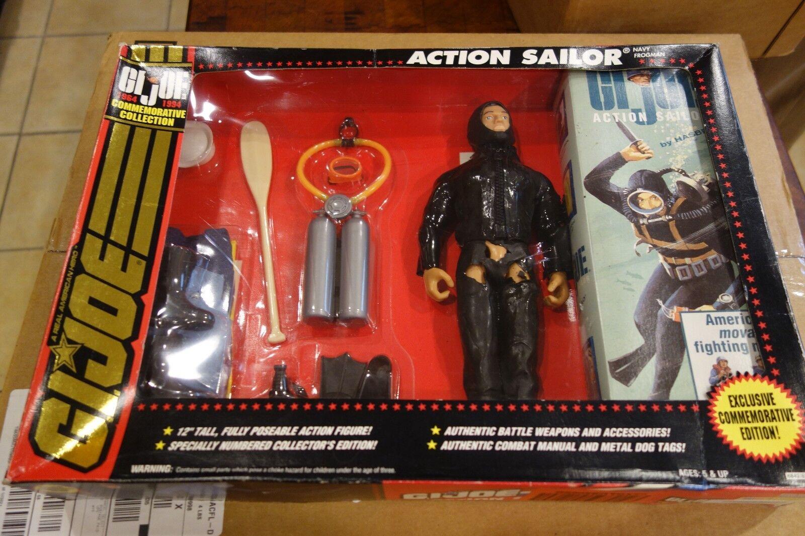 NRFB Hasbro GI Joe 30th Anniversary Action Sailor 12  Figure