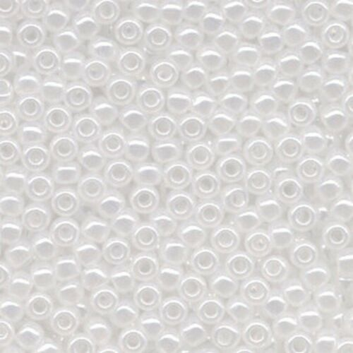 Ceylon White Toho Japanese Seed Beads 2.2 mm 10g Size 11//0