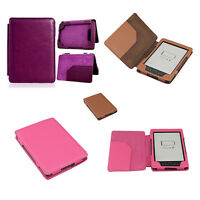 Case for Amazon Kindle 4. 6 inch 2012 E Book Reader. PU Leather Flip Cover Stand