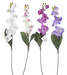 Orchidea-artificiale-FIORI-MATRIMONIO-BOUQUET-DI-CASA-DECORAZIONE-STRUZZO-60-cm
