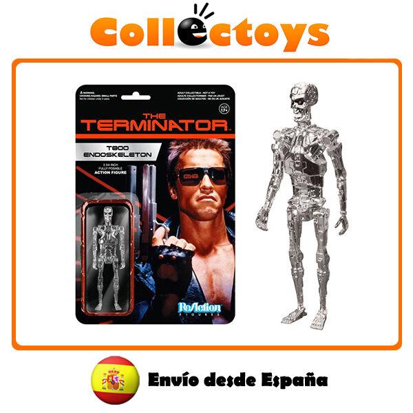 Figura Funko ReAction - Terminator - T800 Endoskeleton - Figure