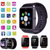 2017 Touch Screen GT08 Bluetooth Smart Wrist watch for Samsung HTC iOS iPhone