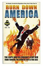 """#1-6 Set of SIX Trump 11x17/"""" Posters printed on double thick poster-board"""
