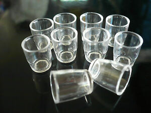10 Square Coffee Cup Acrylic Plastic Dollhouse Miniatures Supply Deco Artist