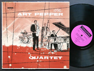 ART-PEPPER-Quartet-LP-TAMPA-RECORDS-TP-20-US-1958-DG-MONO-JAZZ-Russ-Freeman