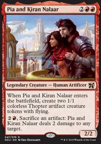 Pia and Kiran NALAAR-Pia and Kiran Nalaar MTG Magic DDU evi Eng