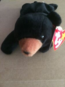 fdaf0126a0a Image is loading Ty-Beanie-Baby-034-Blackie-034-the-Black-