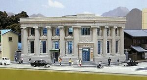 Kato 23-458 Palazzo Pour Banque A 2 Niveaux En Style Victorien Gris Échelle-n 1/