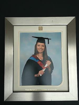 TRADE PRICES-18mm MODERN SHINY SILVER CHROME GRADUATION PHOTOGRAPH//PICTURE FRAME