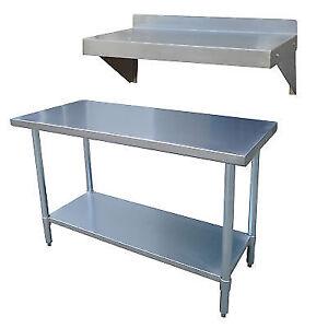 Sportsman stainless steel kitchen utility table with work shelf ebay stock photo workwithnaturefo