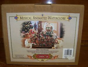 Grandeur-Noel-2002-Collector-039-s-Edition-Christmas-Musical-Animated-Waterglobe