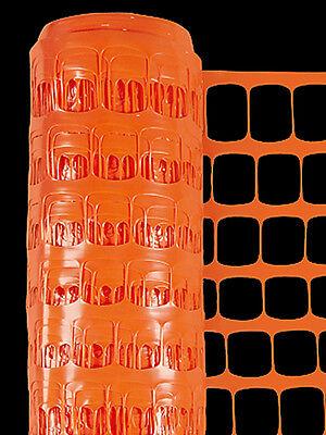 Genteel 4'x100' Orange Barrier Poly Safety Fencing #74510 Garden Structures & Shade