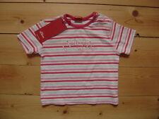 @ s.Oliver @ süßes T-Shirt rosa geringelt Gr. 62 Monate 6 NEU!!!