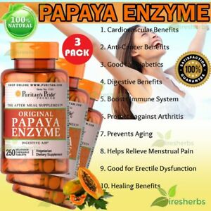 Papaya-Enzyme-Digestion-Constipation-Lungs-Arthritis-Chewable-Supplement-750-Tab