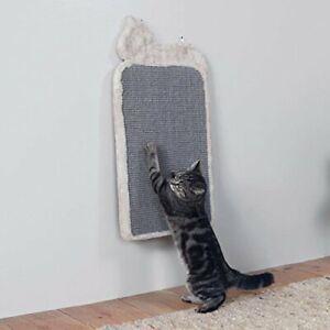 Cat-Scratching-Board-Cat-Shaped-Light-Grey-36-x-70-cm