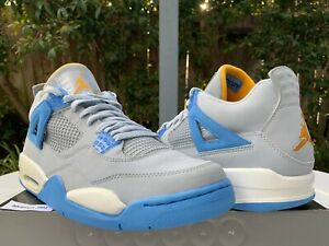 c7d001d2296091 2006 Nike Air Jordan 4 IV Retro LS SZ 11 Mist University Blue Gold ...