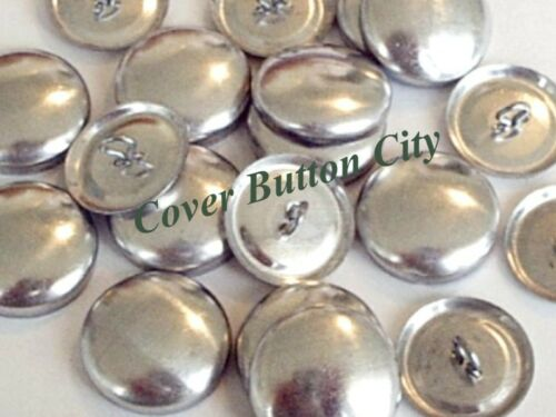 1 1//8 inch 50 Size 45 Cover Buttons WIRE BACKS