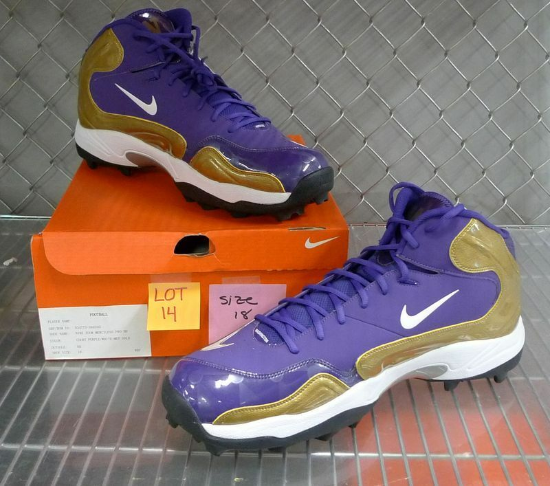 Rose Bowl UW Huskies Football Game Cleats NIKE Zoom Merciless Pro collectible