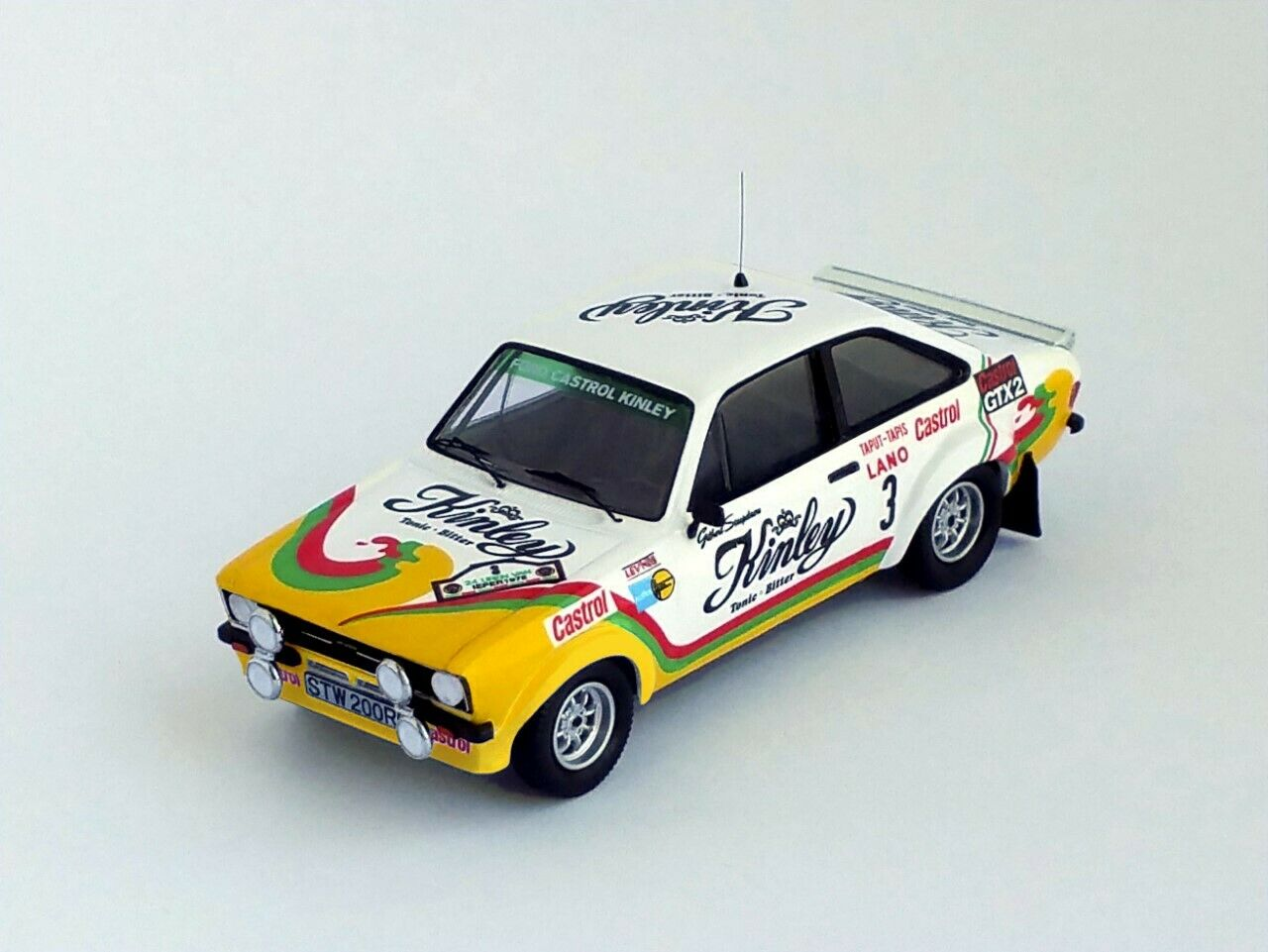 Ford escort mkii 2nd ypres rally 1978 G. staepelaere F. FRANSSEN-troféu rr.be05