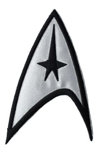 Star Trek silver Iron on Patch