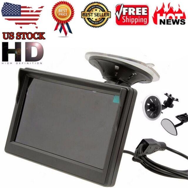 800*480 TFT LCD HD Screen Monitor For Car Rear Reverse Rearview Backup Camera HD