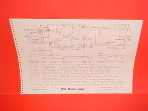 1967-MERCURY-COMET-CYCLONE-GT-CALIENTE-CONVERTIBLE-CAPRI-FRAME-DIMENSION-CHART