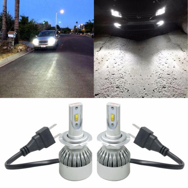 H7 LED Headlight Bulb High Low beam Conversion Kit fits Mercedes Benz CLK SLK ML