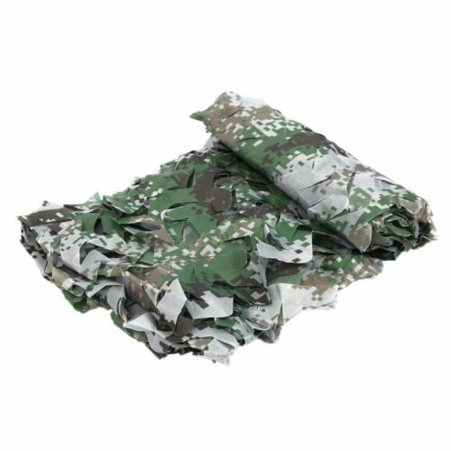 Woodland Desert Leaves Camouflage Camo Army Net Camping Military Hunting UK