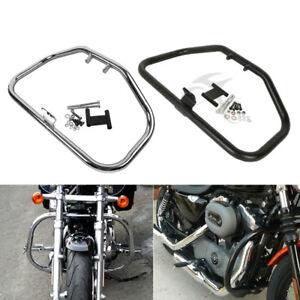 Motorcycle-Iron-Engine-Guard-Crash-Bar-For-Harley-Davidson-Sportster-1984-2003