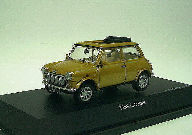 1 43 Schuco Mini Cooper   Gold  | Authentische Garantie