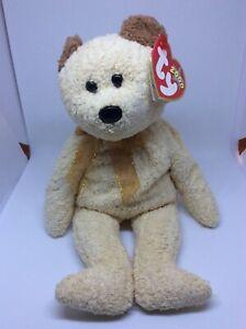 2000 TY BEANIE BABY BABIES HUGGY THE BEAR TEDDY BEAR - PRISTINE  W/ TAGS