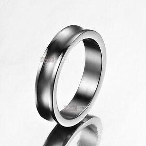 silver little finger ring womens girls miss stainless steel us 5 slim elegant