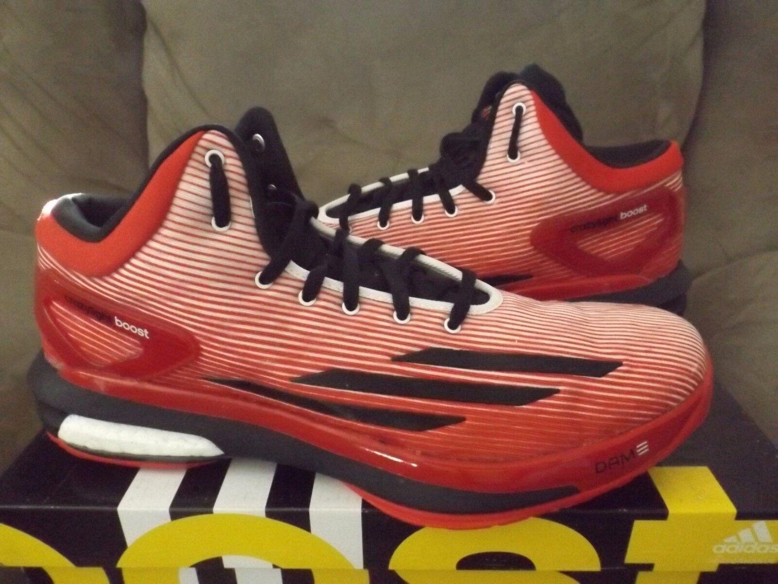 Adidas Crazylight Boost DAMIAN LILLARD Men's Basketball shoes C76574 Red (NEW)
